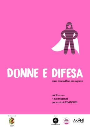 self defence school - corso donne e difesa 2017